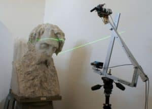 3D Scanning in Progress